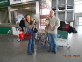 sinead & joe at malaga airport
