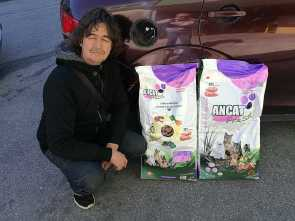 DONATED CAT FOOD